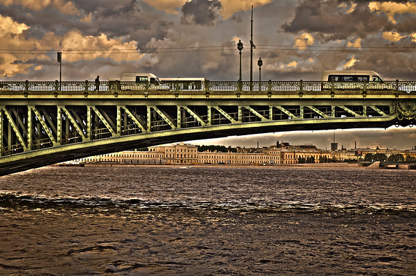 Bridge Over the Neva River #2