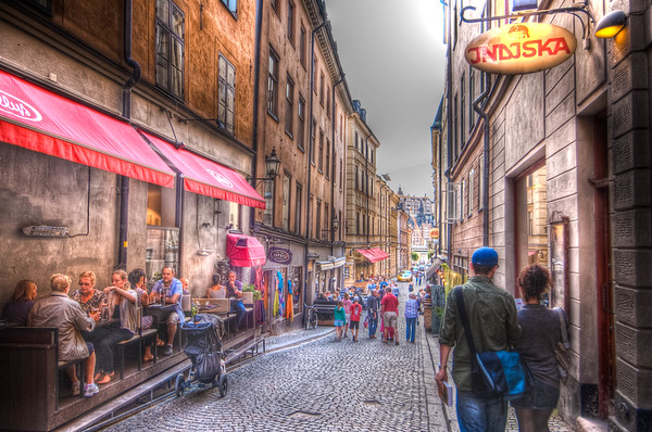 Old Town Street Scene #2