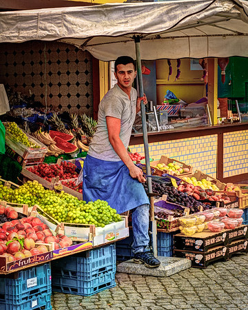 Fruit Stand Vendor