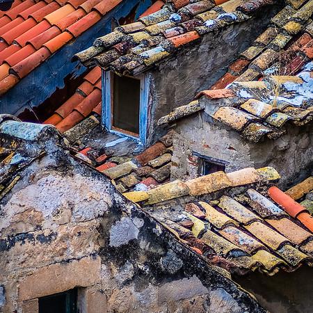 Tile Roof Detail