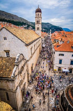 Stradun, Main St. in Dubrovnik