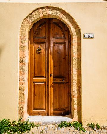 Interesting Entrance Door #1