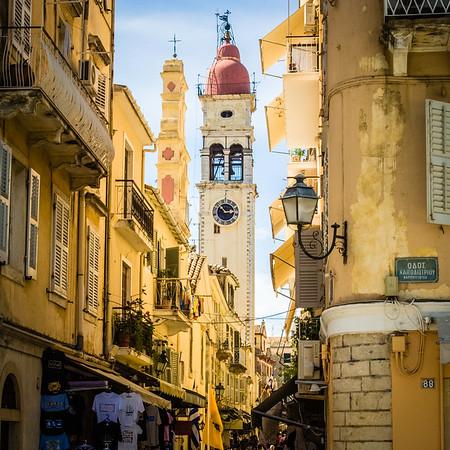 Corfu Street Scene #3