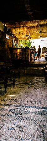 Lindos Bar Floor