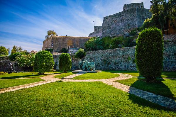 """""""New"""" Fortress on Corfu"""