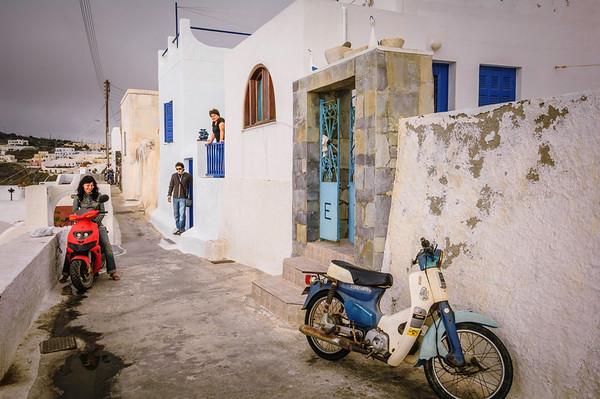 Fira Neighborhood Scene #1
