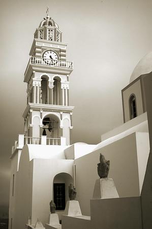 Santorini Church #8, Monochrome