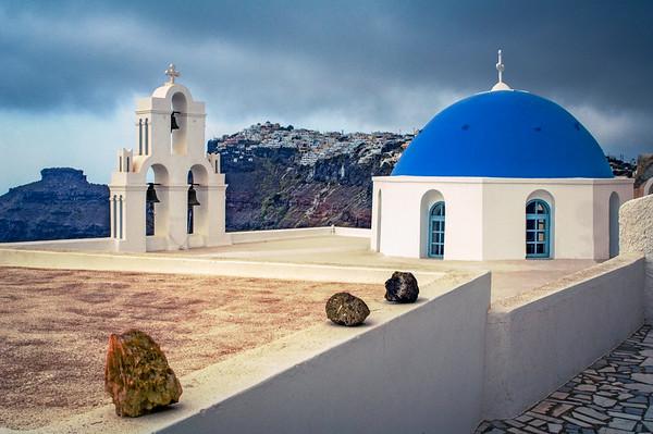 Santorini Church #7