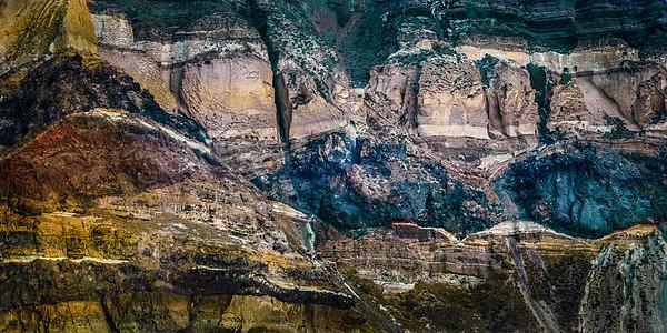 Santorini Cliff Side