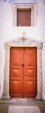 Greek Chapel Entrance