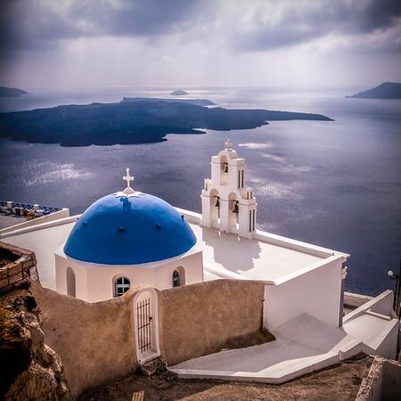 Santorini Church #6