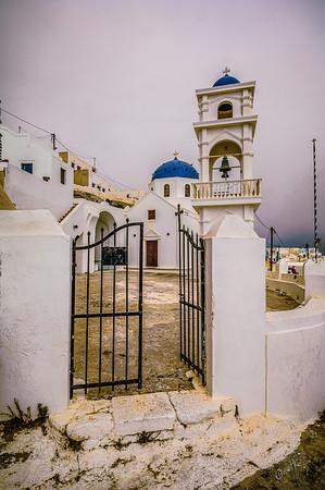 Santorini Church #4