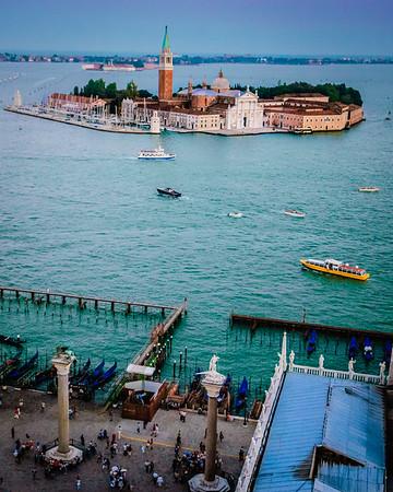 Piazzeta San Marco and San Giorgio Maggiore