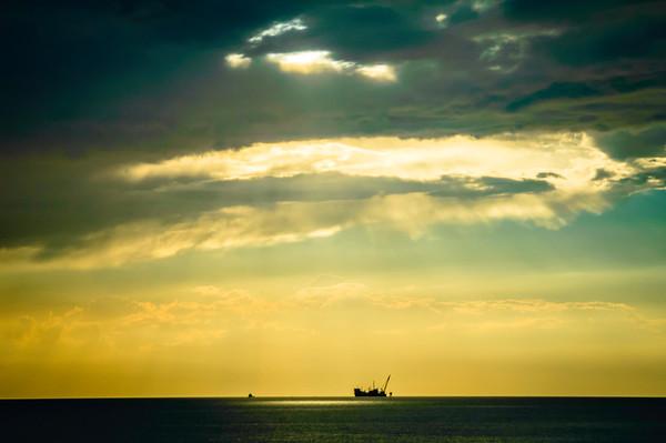 Dramatic Sky Over the Adriatic Sea