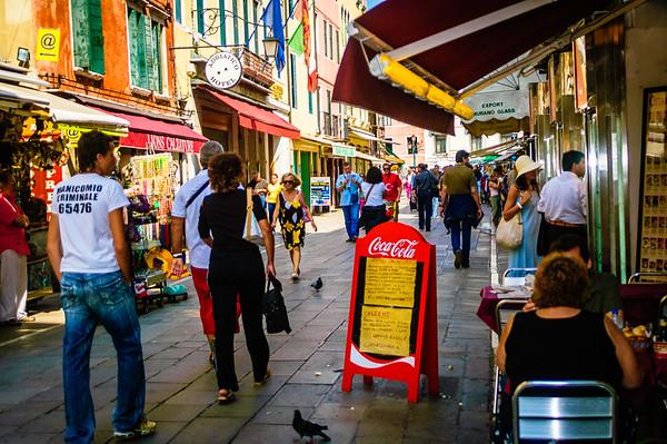 Venice Street Scene #1