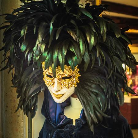 Porcelain Mask and Headdress