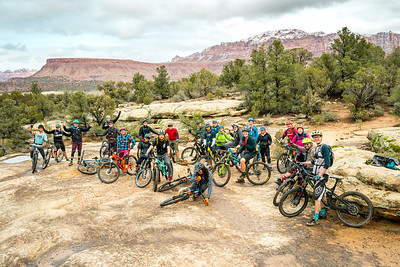 Over The Edge staff retreat in Hurricane Utah