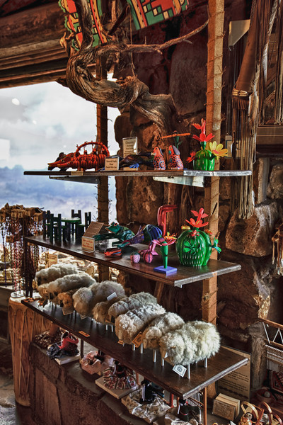 Some of the gifts available at Navajo Point.