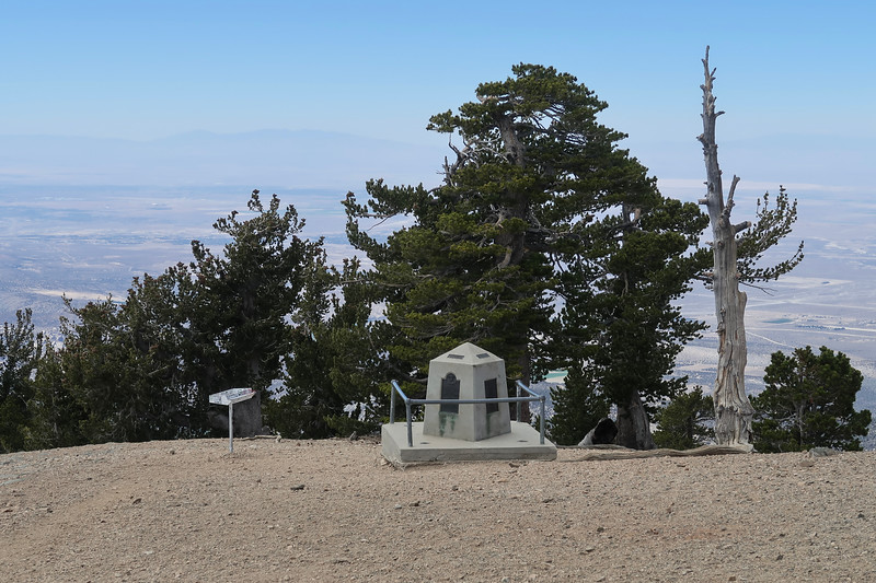 Mt Baden Powell Monument