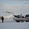 Unmanned aircraft monitoring Arctic soot. Photo from Tom Grydeland, NORUT