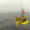 Deploying a carbon wave glider in Alaskan waters