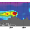 Plumes of hydrothermal Fe and Mn detected across the Pacific