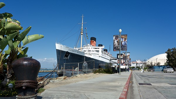 CA .  Long Beach . Queen Mary