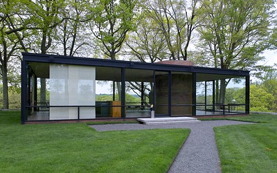 Philip Johnson Estate New Canaan CT - Glass House