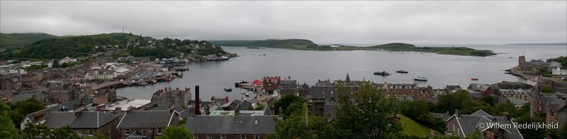 Oban Harbour in Scotland