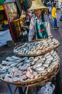 Seafood in Chinatown Bangkok