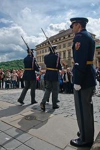 La Garde à Prague