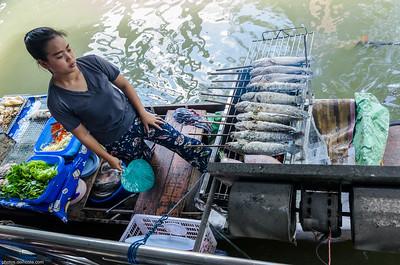 Floating Market (Bangkok - Thaïland)