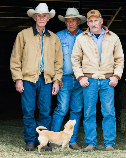 Cowboys of Mexican heritage are an important labor force for many ranches in the region, which was part of Mexico until 1854.  Until recently, many Mexican cowboys moved freely--sometimes walking--- across the U.S./Mexico border