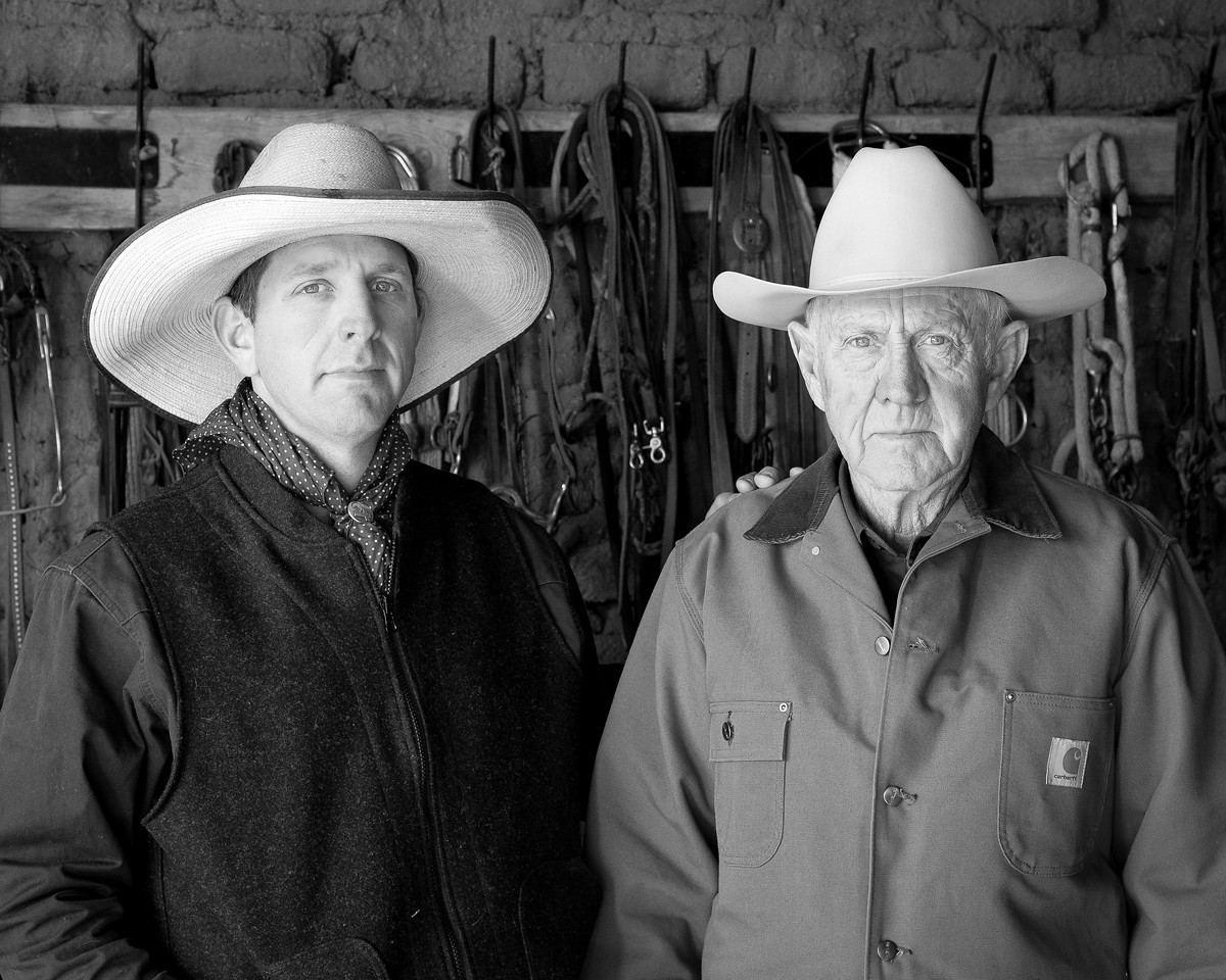 Joe (left) and John (right) King's ancestor began ranching in the Altar Valley in the 1890's. Joe carries on the family tradition, but many ranching families lack heirs interested in ranching