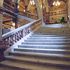 The marble staircase inside Glasgow City Chambers.<br /> <br /> This is an amazing building.  marbled and ornate all over.<br /> <br /> A handheld HDR.