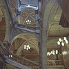 Another view inside Glasgow City Chambers.  three stories of marbelled opulence.