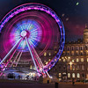 "The Wheel of Glasgow - or Glasgow Eye.<br /> <br /> I promised a night shot back when I posted this of the square and wheel <a href=""http://www.flickr.com/photos/jrmurray/6914663185"">http://www.flickr.com/photos/jrmurray/6914663185</a>.<br /> <br /> This was one of the most outstanding sunsets I have seen in a long while and I was excited to get three decent captures in the one night, yesterday's shot, this and another of the Gallery (to follow).<br /> <br /> This is a three shot HDR, I was lucky for the wheel to stop while I was capturing the normally exposed frame - so I overlayed that frame to get the detail of the boxes.<br /> <br /> 5D3 gismodo update :  <a href=""http://gizmodo.com/5889707/canon-eos-5d-mark-iii-video-chompin-darkness-slaying-digital-single-reflex-camera-pr0n-bring-it"">http://gizmodo.com/5889707/canon-eos-5d-mark-iii-video-chompin-darkness-slaying-digital-single-reflex-camera-pr0n-bring-it</a>"