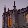 Crescent and spires