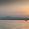 Mt Baldo sits in the North Eastern shores of Lake Garda.<br /> <br /> Here is it at sunrise in mid summer.