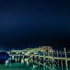 Sandy Bay under the stars
