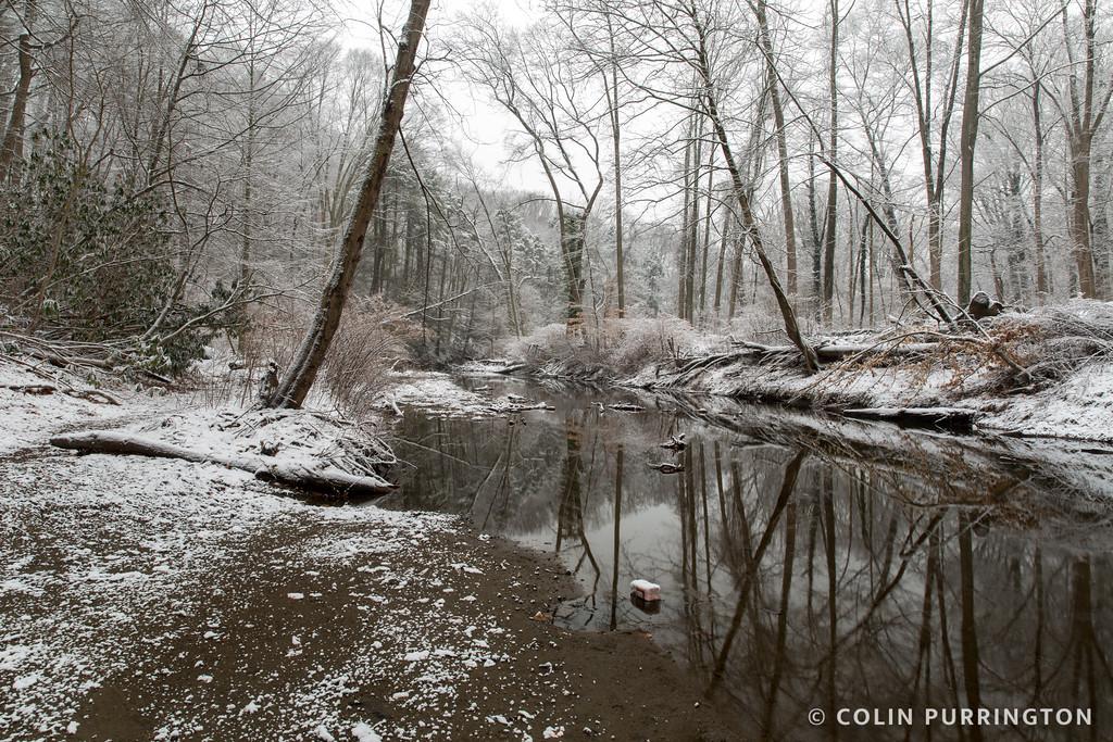 Crum Creek in winter