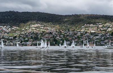 Sandy Bay sailing
