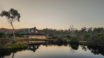 Cradle Lodge Reflected in the Pond