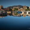 Mt Wellington and Hobart City