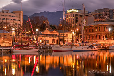 Cruising Yacht Club of Tasmanian Dark MOFO Constituion ODck take over.