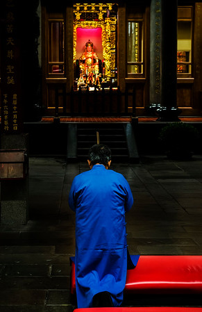 Deep into prayers