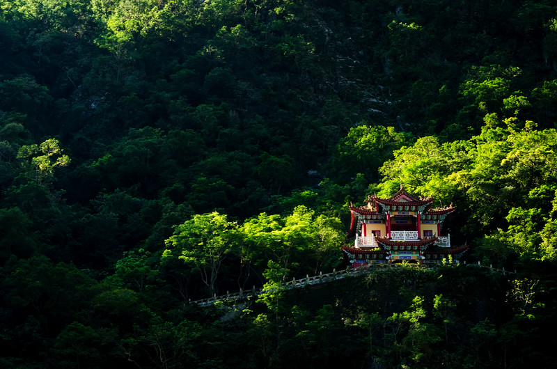 Changuang Temple; Taroko.