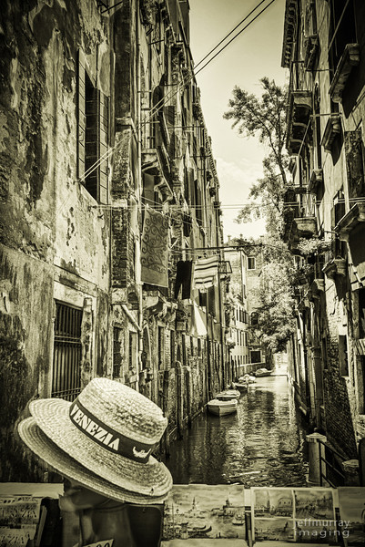 sleazia: tourist paraphanalia in a back alley of Venice.