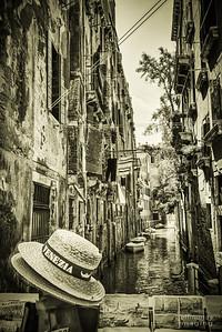 sleazia: tourist paraphanalia in a back alley of Venice.