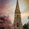 """One of my fav's from York.<br /> <br /> I have already shared a shot of the blossom against the coloured sunrise sky.  <a href=""""http://www.flickr.com/photos/jrmurray/6945264868"""">http://www.flickr.com/photos/jrmurray/6945264868</a><br /> <br /> This was our first morning on holiday and while the weather was overcast and cloudy there was a brief period where the sun broke through and a lovely atmosphere developed.<br /> <br /> This is a lovely part of the outskirts of York on the South Western side and York University has a campus nearby.  Yesterday's post Heslington Hall is part of the University I think.<br /> <br /> This is a 12 shot (3 frame) HDR vertorama at the resolution of 7632 x 5534."""